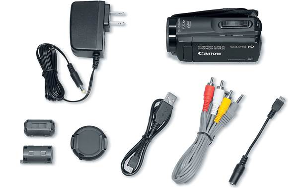 Canon VIXIA HF W10 Included accessories