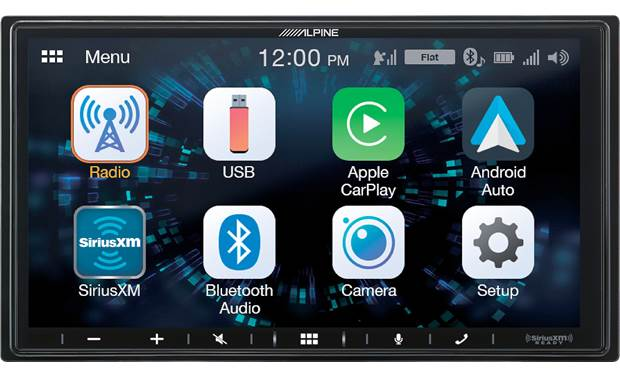 Alpine ILX-W650 This shallow-depth receiver is packed with features, including Apple CarPlay and Android Auto