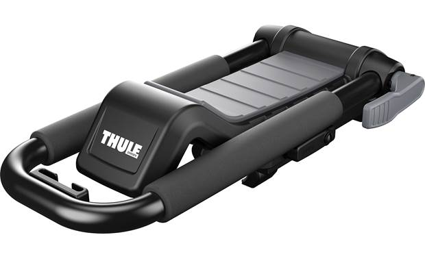 Thule Hull-a-Port XT folds flat when not in use