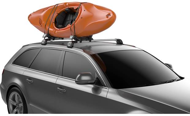 Thule Hull-a-Port XT J-style for one kayak