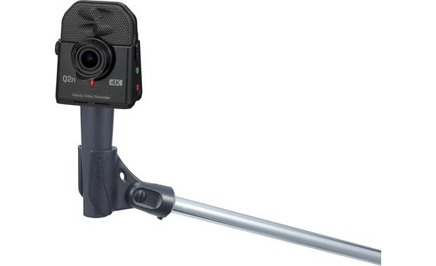 Zoom Q2n-4K Handy Threaded insert for mounting on tripods and mic stands (stand and adapter not included)