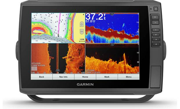 Garmin ECHOMAP Ultra 106sv The big screen means room for multiple views
