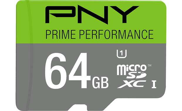 PNY Prime Performance microSDXC Memory Card Front