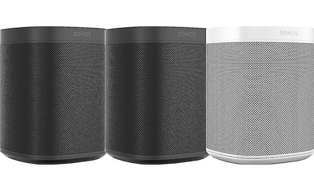 Sonos One (Gen 2) 3-pack 2 Black, 1 White
