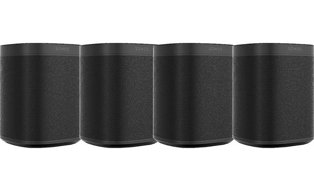 Sonos One 4-pack Black