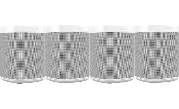Sonos One (Gen 2) 4-pack White