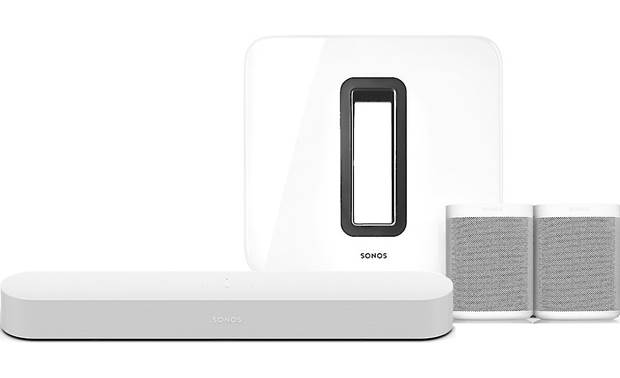 Sonos Beam 5.1 Home Theater System with Voice Control White