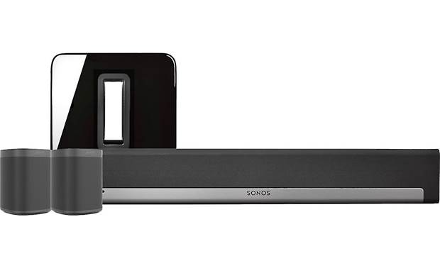 Sonos Playbar 5.1 Home Theater System with Voice Control Black