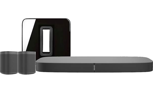 Sonos Playbase 5.1 Home Theater System with Voice Control Black