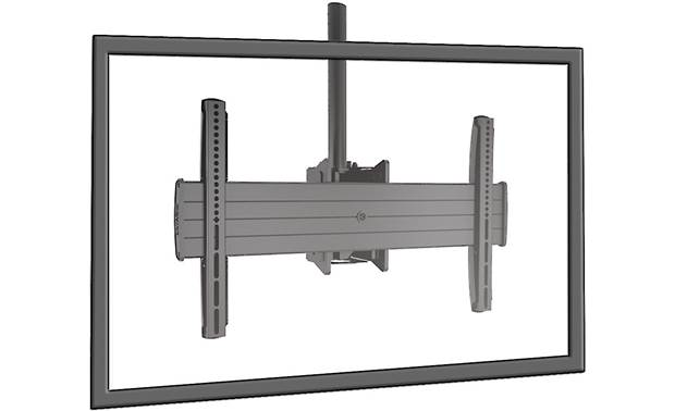 "Chief Fusion LCM1US Large Flat Panel Ceiling Mount supports screens 32""-65"""