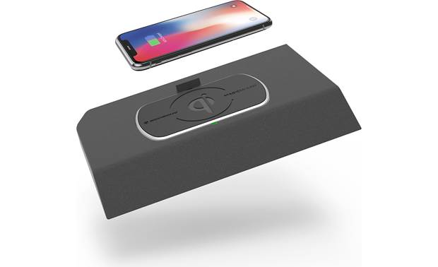 Scosche TAQ03 This Scosche wireless Qi charger fits in the front console location in your vehicle (phone not included)
