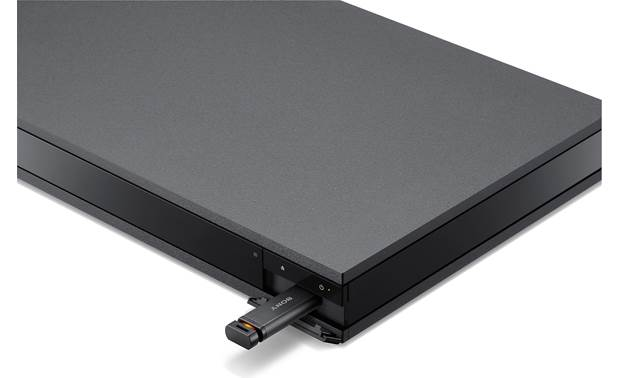 Sony UBP-X800M2 Front-panel USB port can play high-resolution digital music files from a thumb drive (not included)