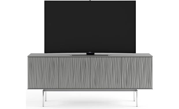BDI Tanami 7109 Fog Grey - supports a TV up to 85