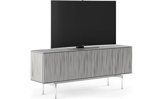 BDI Tanami 7109 Fog Grey - left front (TV not included)