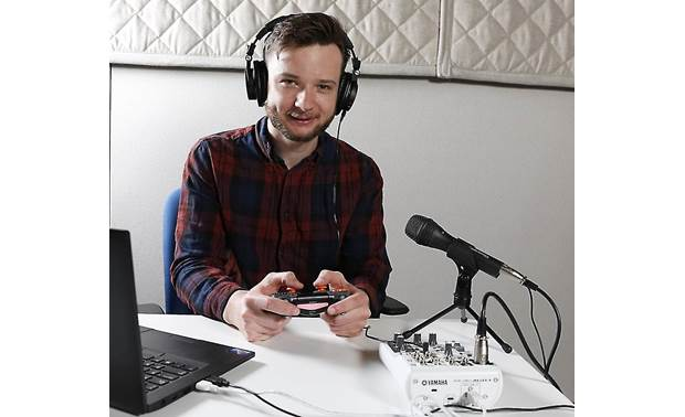 Audio-Technica/Yamaha eSports Gameplay Bundle Crutchfield writer Benn Grant helped create this all-in-one solution for gamers who want to stream on Twitch or YouTube