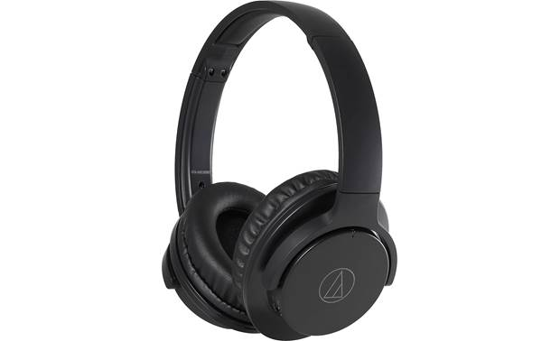 Audio-Technica ATH-ANC500BT QuietPoint® Wireless over-ear headphones with active noise-cancellation circuitry