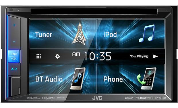 JVC KW-V250BT Quickly get to the functions you use the most using Key Customize