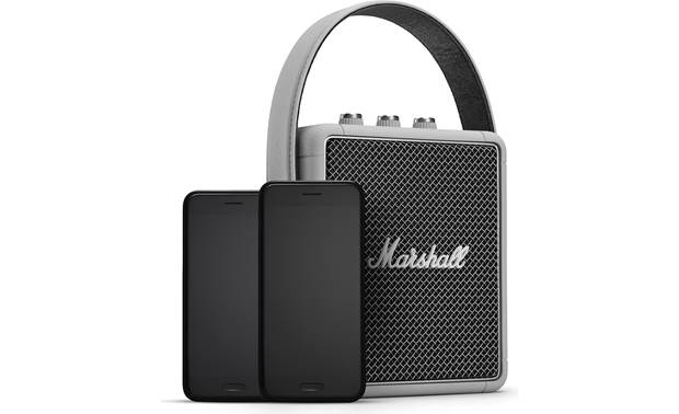 Marshall Stockwell II Grey - pair simultaneously with two smartphones (not included)