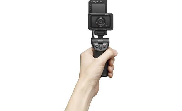 Sony RX0 II Shown with Sony VCT-SGR1 shooting grip (sold separately)