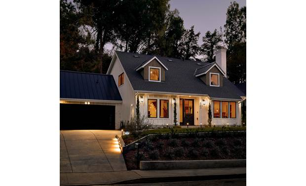 Ring Smart Lighting Spotlight Expand your home's ring of security into your landscape with Ring's line of smart lighting devices