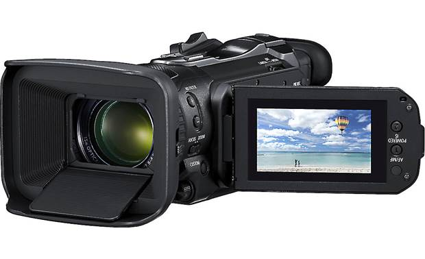 Canon VIXIA HF G60 Includes five assignable buttons for custom shooting