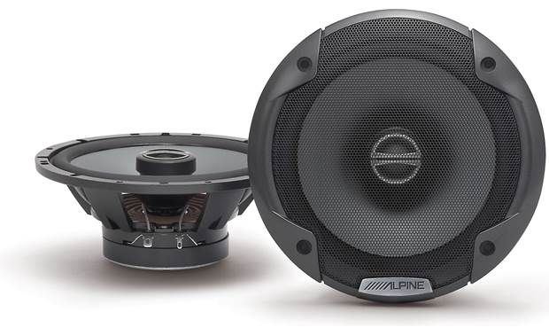 Alpine SPE-6000 Step up from factory sound with Alpine's Type E speakers