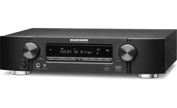 Marantz NR1510 (2019 model) Angled front view