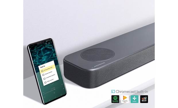 LG SL8YG Chromecast is built-in for easy wireless music streaming