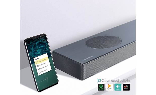 LG SL9YG Chromecast built-in for streaming music from the cloud with compatible mobile apps