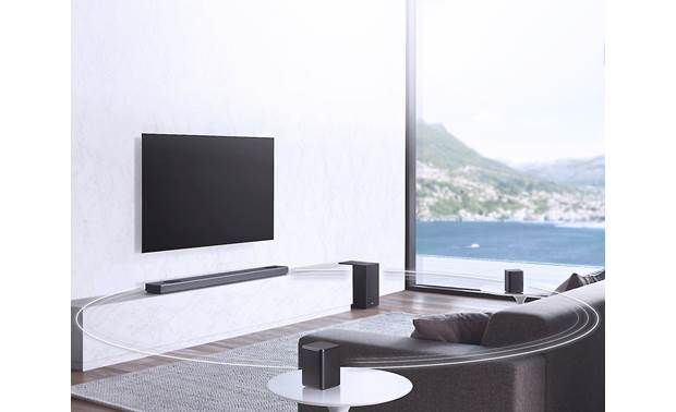 LG SL9YG Compatible with optional surround speaker kit (sold separately)