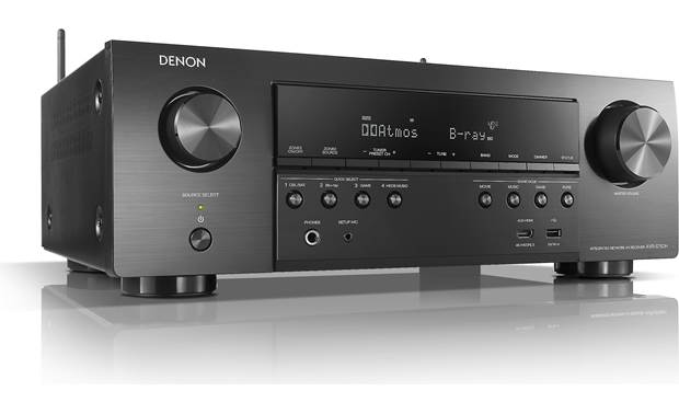 Denon AVR-S750H (2019 model) Angled front view