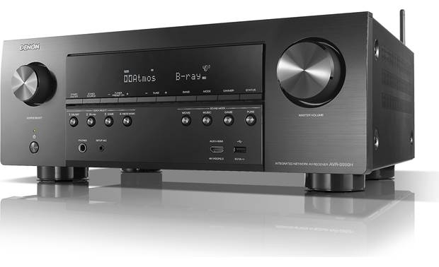 Denon AVR-S950H (2019 model) Angled front view