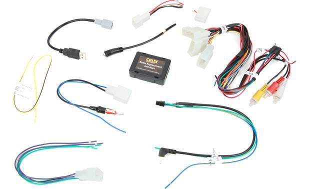Crux SWRTY-61N Wiring Interface Front