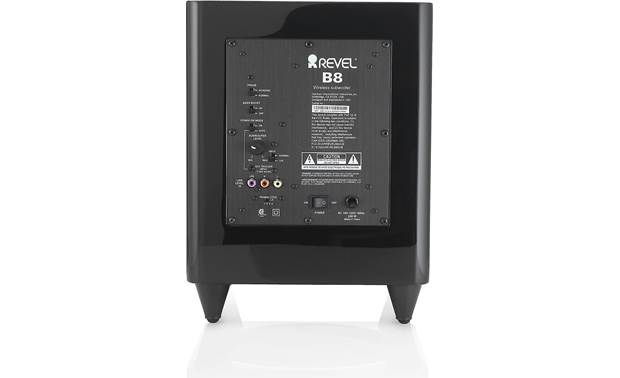 Revel Concerta B8 Rear-panel input and controls