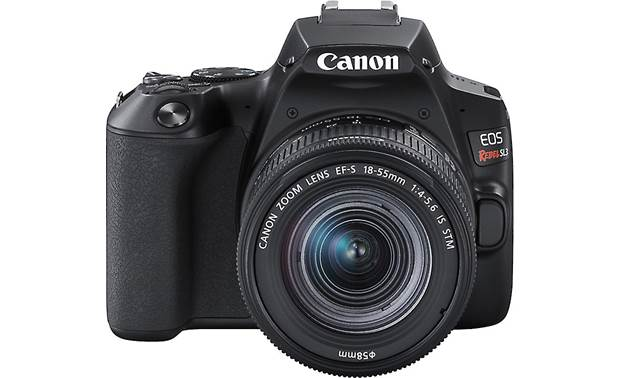 Canon EOS Rebel SL3 Kit Angled front view