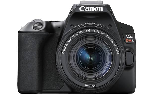 Canon EOS Rebel SL3 Kit Front, straight-on