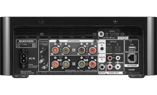 Marantz M-CR612 Back