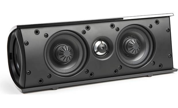 Definitive Technology ProCinema 6D Center channel speaker, shown with grille removed