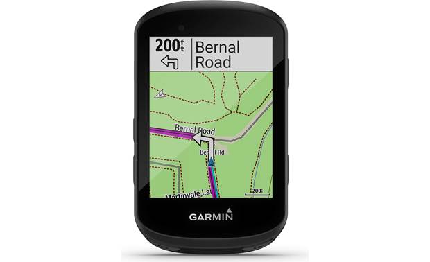Garmin Edge 530 Garmin's 530 Edge comes preloaded with cycling maps.