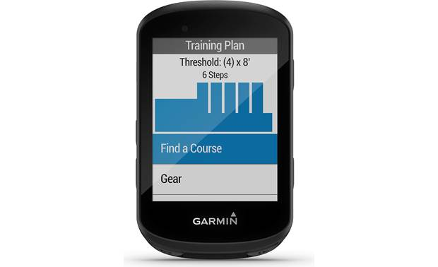 Garmin Edge 530 Mountain Bike Bundle Training programs.