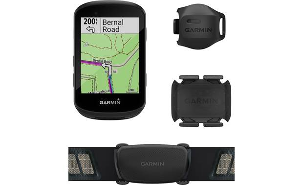 Garmin Edge 530 Sensor Bundle The Edge 530 Sensor Bundle adds a heart rate monitor, plus speed and cadence sensors.