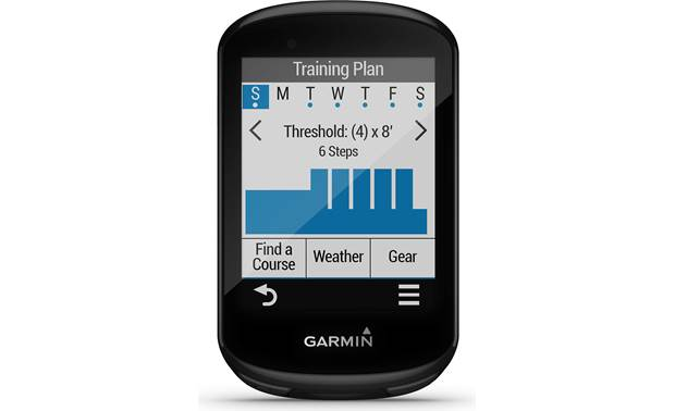 Garmin Edge 830 Sensor Bundle Training guidance.