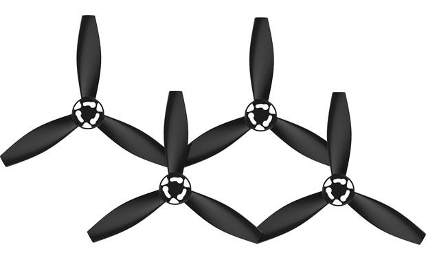Parrot Bebop 2 Power Propellers Front