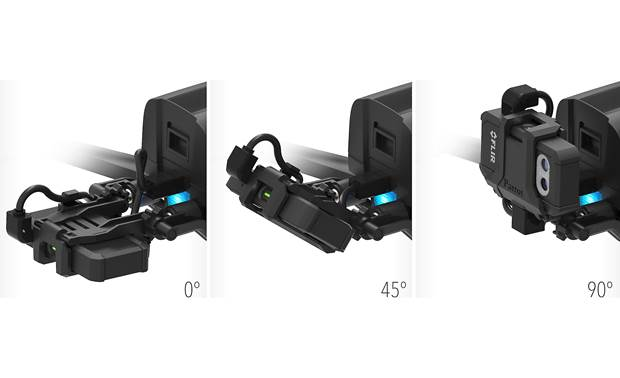 Parrot Bebop-Pro Thermal Adjustable mount lets you tilt the thermal camera