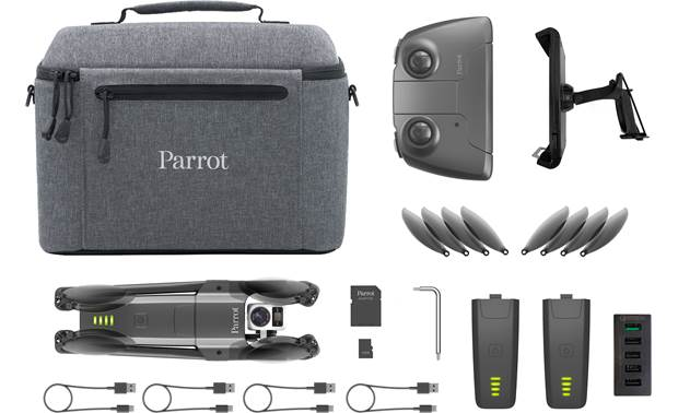 Parrot ANAFI Thermal Shown with included accessories