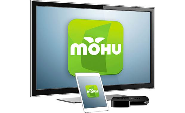 Mohu AirWave™ Download the free Mohu app to access content