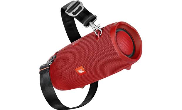 JBL Xtreme 2 Red - detachable carry strap
