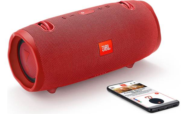 JBL Xtreme 2 Red  - stream via Bluetooth (smartphone not included)