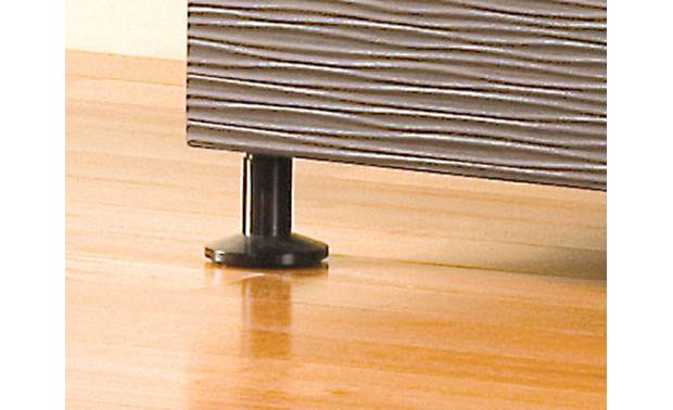 Salamander Designs Black Robot Feet Lifts cabinet 3 inches