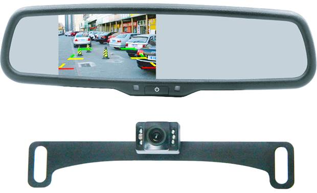 Parts & Accessories Car & Truck Parts Sincere Car Reverse Backup Ir Night Vision Hd Led Camera+rearview Mirror Display Monitor